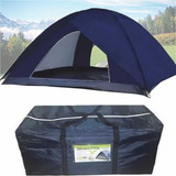 Barraca Acampamento Camping 10 Pessoas Montana Grande Imperm