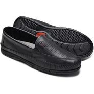 Mocassim Sapato Sapatilha Masculino Idoso Confort Macio Nb10