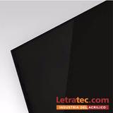 Placa Acrílico Negro 1520 X 2520mm 10 Mm Primera Calidad