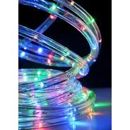 Manguera Luces Led 10mts Exterior Rgb 8 Efectos Navidad Ip44
