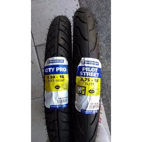 Pneu Dianteiro E Traseiro Intruder 125 ( O Par ) Michelin