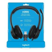 Diadema Logitech H390 Con Microfono Clearchat