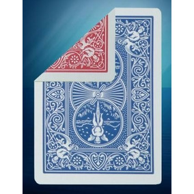 5 Carta Bicycle Duplo Dorso Azul / Vermelha