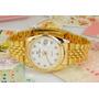 Precioso Reloj Enchapado En Oro Free Crane Quartz