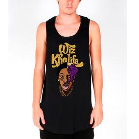Camisa Camiseta Regata Longline Wiz Khalifa Gang Swag Hiphop