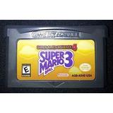 Súper Mario 3 Para Gba/sp/micro Y Dslite