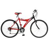 Bicicleta Lahsen Mtb Aro 26 Rocket 18 Vel. Color Rojo