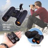 Binoculares Tasco 30x60+ Estuche Largo Alcance Portable 557