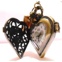 Alice In Wonderland Corazón Drink Me Reloj Dije De Colección