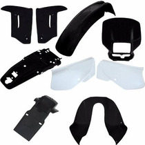 Kit Plastico Carenagem Honda Xr 200 9 Pcs - Paramotos