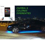 Luces Led Neon Debajo Del Carro Control Remoto
