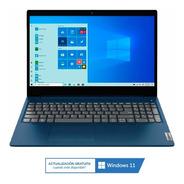 Notebook Lenovo I3 1115g1 8gb 128gb Ssd 15.6 Windows 10 Pc