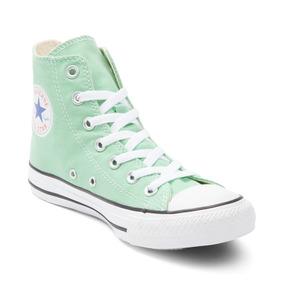 Oferta! Zapatillas Converse Chuck Taylor Hi Verde Aqua