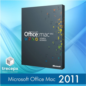 Office 2011 Home & Business Original 3 Equipos Mac Os Sierra