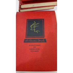 Sherlock Holmes Coleção 9 Livros Completa Raríssima E Antiga