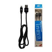 Cable Mallado iPhone Reforzado Usb / Lighting Carga Rapida