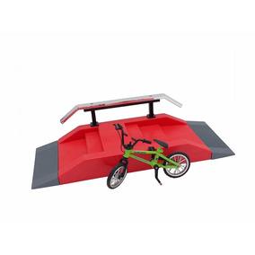 Bicicleta De Dedo Mini Bike Skate Park C/ Acessórios E Rampa