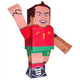 Cristiano Ronaldo Para Imprimir, Recortar Y Armar 3d Papel