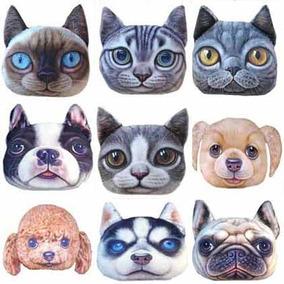 Cojines En Forma De Gato Paquete 2 Pzas Almoadas Cat Perro