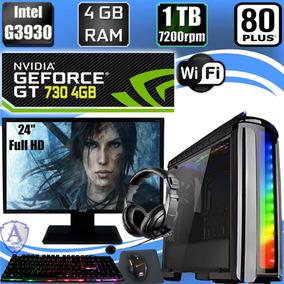 Pc Gamer G3930 Geforce Gt 730 4gb 1tb Hd 4gb Ram Acer 24 C22