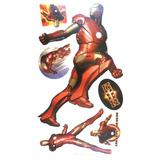 Adesivos Grande Parede Cartela Nº1 Iron Man Homem De Ferro