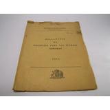 Reglamento De Disciplina Fuerzas Armadas 1975