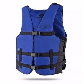 Colete Salva Vidas Esportivo Vários Tamanhos Cor Azul