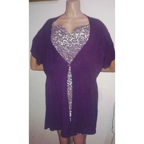 Blusa Camisa Franela Para Damas Talla Grande Plus 2xl