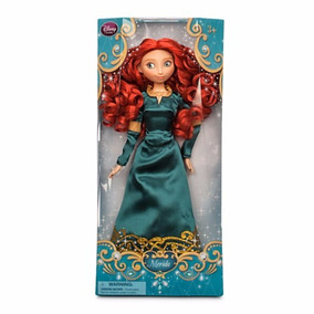 Muñeca Princesa Brave Merida Disney Store 30 Cm