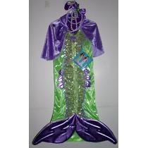 Disfraz De Sirena Mermaid Para Niñas Talla 4