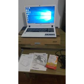 Notebook Acer® Es1-572-37ep Branco 15.6 Processador Intel®