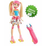 Barbie Patines Brillosos Mundo De Video Juegos Patinadora