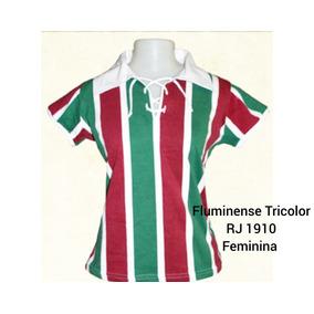 Camisa Retrô Fluminense Fiel Tricolor 1908 Frete Grátis - Calçados ... 2047efb3a3125