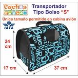 Bolso Transporte Mascota Tamaño S,perro,gato,huron,conejo