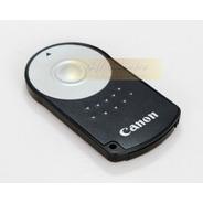 Control Remoto Canon Rc6 Timer  Xsi Xt T3i  650d Funda Cuero