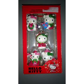 Adornos Para Árbol Hello Kitty Original Nuevos Navidad
