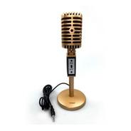 Microfono Para Pc Vintage Con Pie Gamer Youtube Noga Mic2030