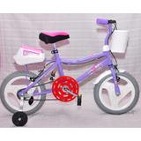 Bicicleta Rod 14 Full Para Nena Y Nene