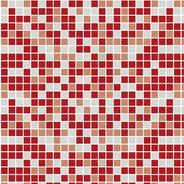 Adesivo De Parede Pastilhas Hidráulica Vermelha 310x58cm