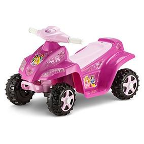 Kid Trax Disney Princess Toddler 6v Quad Ride On, Rosa