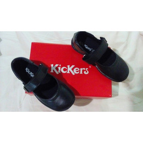Zapato Colegial Negro Kickers Talla 28 Niña