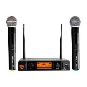 Sistema De Micrófono Inalámbrico De Mano Dual Nady Dw-22 Ht