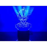 Lampara Led - Dragon Ball - Goku - Super Sayayin
