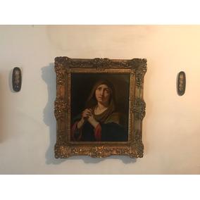 Pintura Religiosa Carlo Maratta(1625-1713) Madonna At Prayer