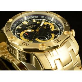 Relógio Invicta Banhado A Ouro 18k Modelo 22767 Original!!!