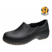 Sapato Antiderrapante Preto Flex Clean Marluvas