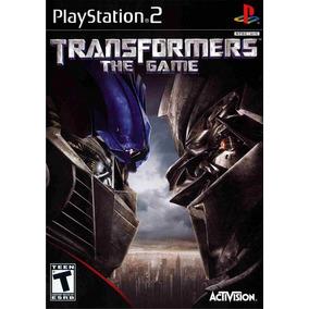 Jogo Ps2 Transformers The Game + Frete Grátis.