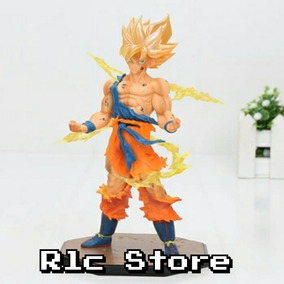 Dragon Ball Z Goku Super Sayajin 18cm Dbz Boneco