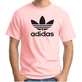 Camiseta Algodao Masc Adida Folha Trad Robb Pp Ao G5