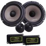 Kit 2 Vias Audiophonic Sensation Ks 6.2 130w Rms 6.5 Novo